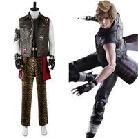 Final Fantasy XV FF15 Prompto Argentum Cosplay Costume Outfit Suit Shirt Vest Halloween Carnival Women Men Full Set