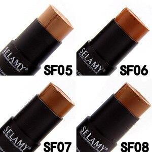 Image 5 - メイクアップフェイス基盤フルカバー輪郭フェイスコンシーラーベースプライマー保湿隠す lemish ブロンザーコンシーラースティック консилер