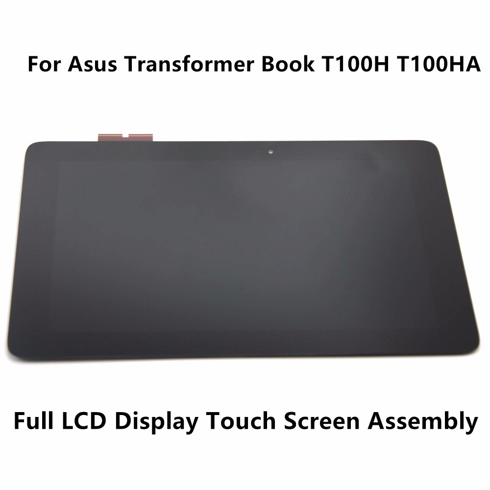 New 10.1 Tablet Full LCD Display Touch Glass Digitizer Panel Screen Assembly Replacement for Asus Transformer Book T100H T100HA new 10 1 inch parts for asus tf701 tf701t lcd display touch screen digitizer panel full assembly free shipping