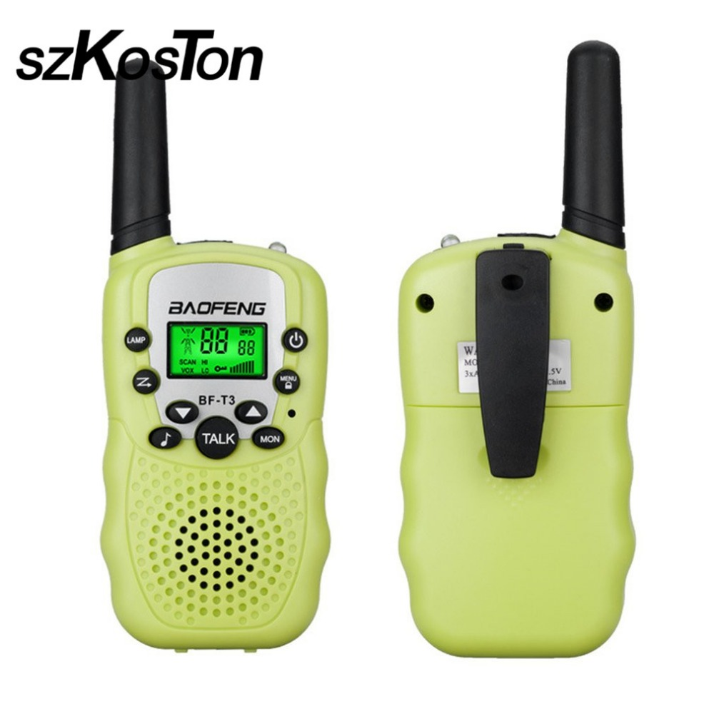 2 Pcs/Lot Portable Talkies-walkies Enfants Enfants Jouet Petit Mini UHF 462-467 Mhz Extérieure Enfants Interphones Radio Émetteur-Récepteur talkie