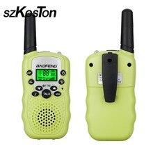 2Pcs/Lot Portable Walkie Talkies Children Kids Toy Small Mini UHF 462-467Mhz Outdoor Kids Interphones Radio Transceiver Walkie
