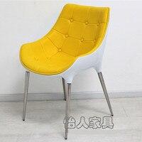 Бесплатная доставка внутренний гражданский Ресторан Посуда Диана кресла контракт и современный обеденный стул дизайн
