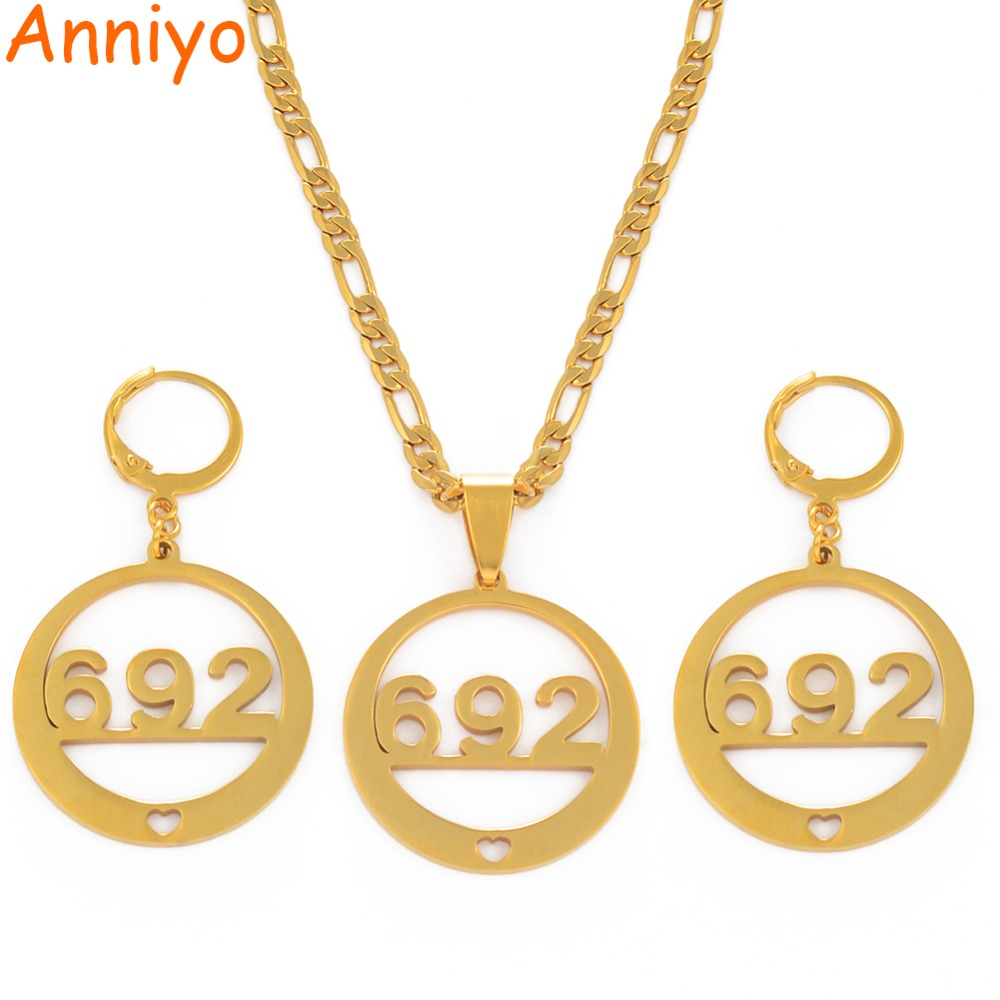 Anniyo Number 692 Jewelry...