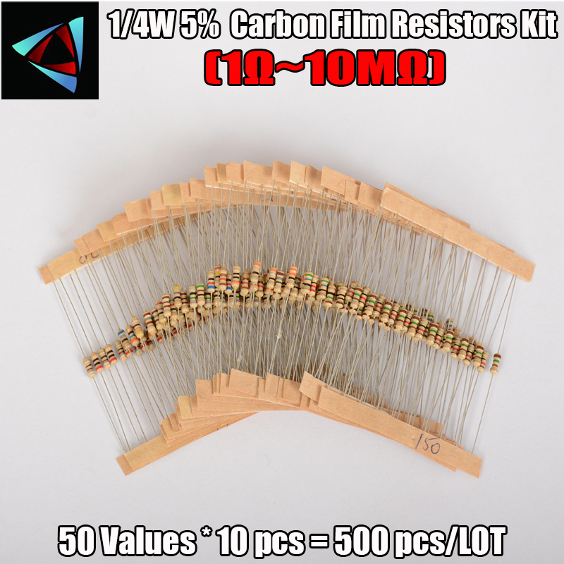 100 PCS 150 Ohm 1//4W 5/% Carbon Resistor Bargain pack