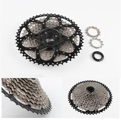 MTB mountain bike Bicycle 11 Speed 50T flywheel freewheel cassette 2018 anima 27 5 carbon mountain bike with slx aluminium wheels 33 speed hydraulic disc brake 650b mtb bicycle