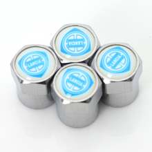 Car tire Valve Caps fit for fiat lancia badge Accessories car-styling
