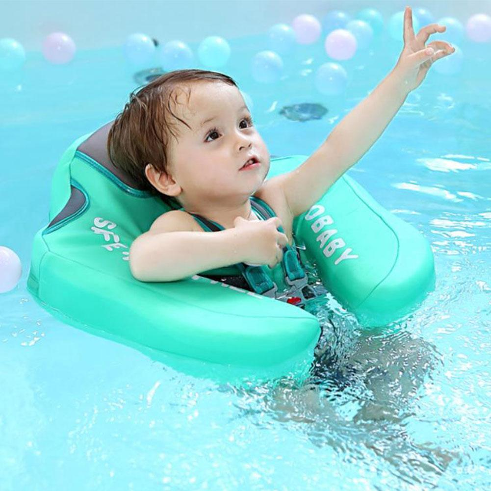 Baby Infant Waist Float Swim Ring Non-inflatable Floats Pool Toys Swim Trainer