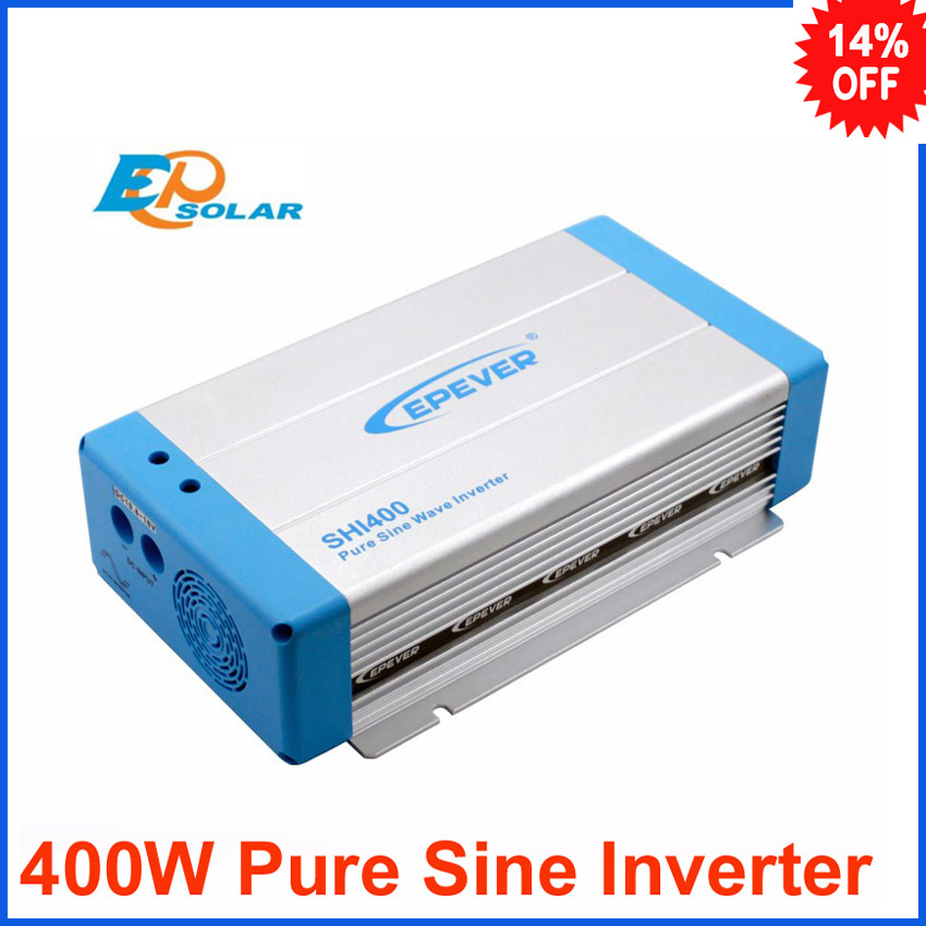 400W SHI400-12 SHI400-22 12v 24v dc input to ac output pure sine wave EPSolar inverters for solar system EPEVER solar micro inverters ip65 waterproof dc22 50v input to ac output 80 160v 180 260v 300w