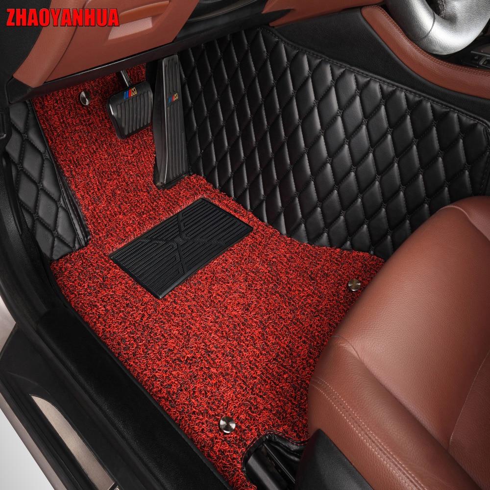 Zhaoyanhua автомобильные коврики для Mitsubishi Lancer Asx Pajero Sport V73 V93 5D Тюнинг автомобилей любую погоду ковровое покрытие лайнер