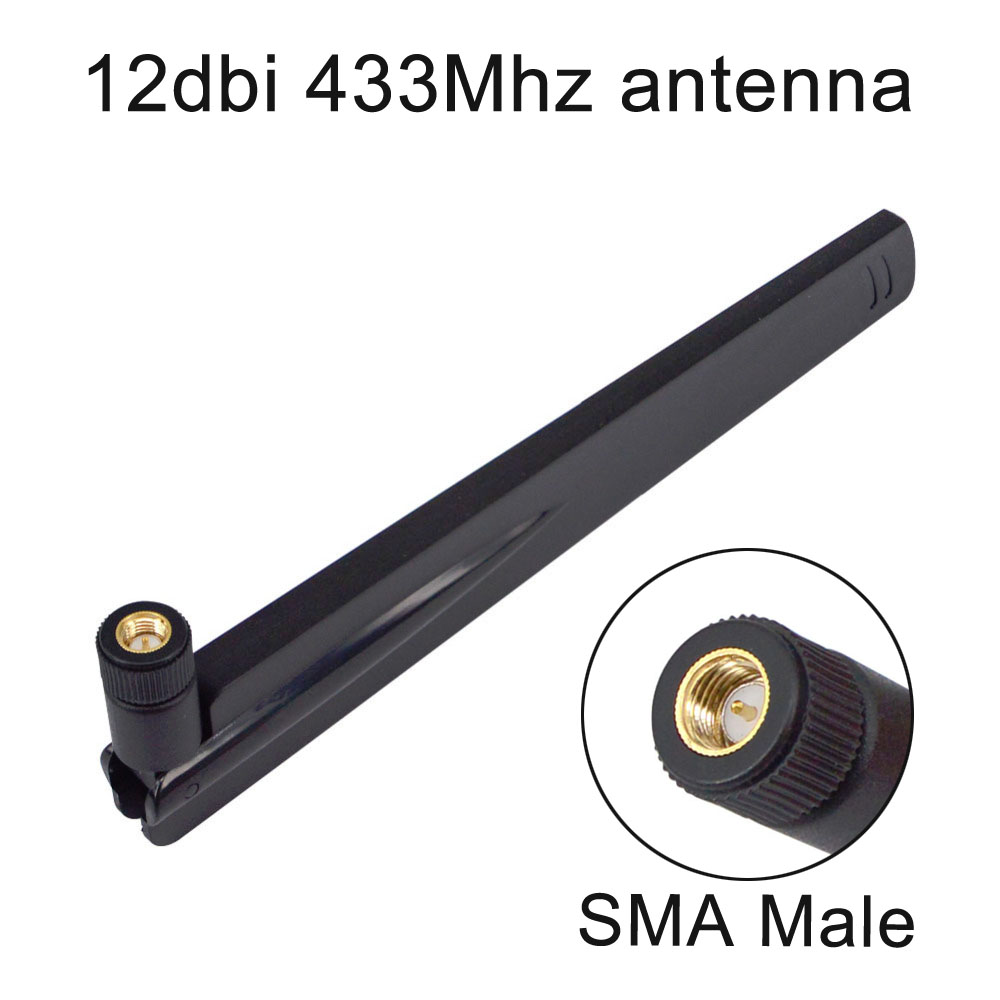 12 Dbi 433Mhz Antenna 433 MHz Antena GSM SMA Male Connector For Ham Radio Signal Booster