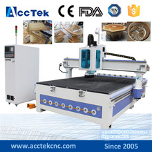 Wood cnc machine Tool changer with air cylinder positioning system atc high quality cnc router with syntec control