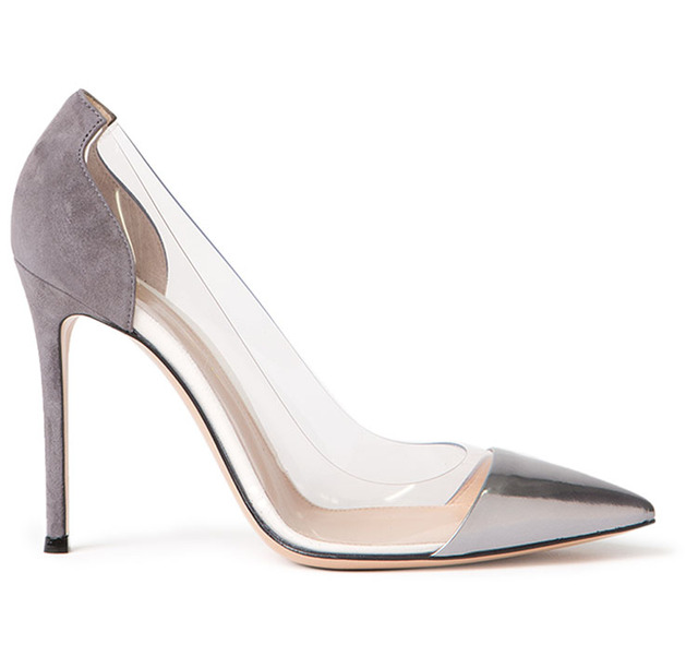 Aliexpress.com : Buy 2015 gianvito rossi grey silver japanned ...