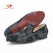 males footwear 2017 new males loafers gold tassel and beautiful crystal males marriage ceremony and occasion  footwear males's flat