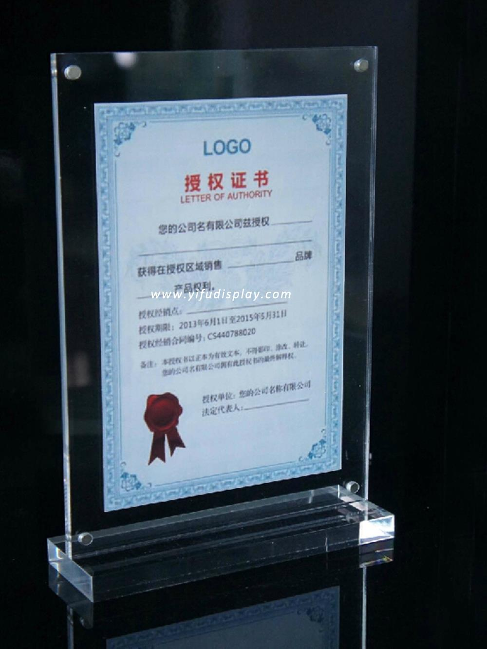 clear acrylic picture frame photo frame wholesale