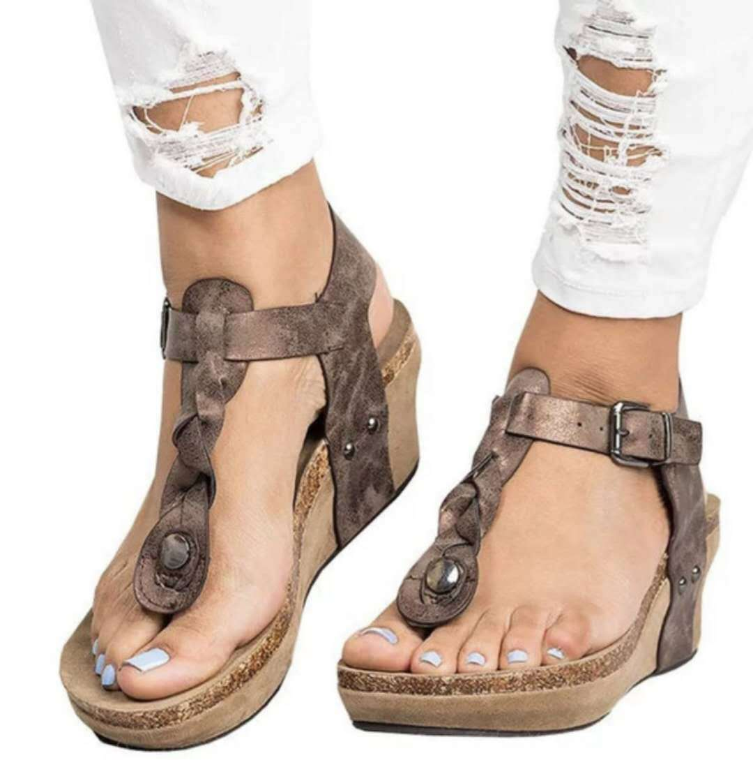 LAISUMK-Comfortable-Woman-Sandals-Summer-Fashion-Gladiator-Roman-Shoes -New-2018-Wedge-Heels-Shoes-Plus-Size.jpg f60b469c49b9