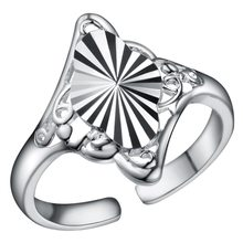 Rings 925 Fashion Jewelry gift rings silver PJ189(China)