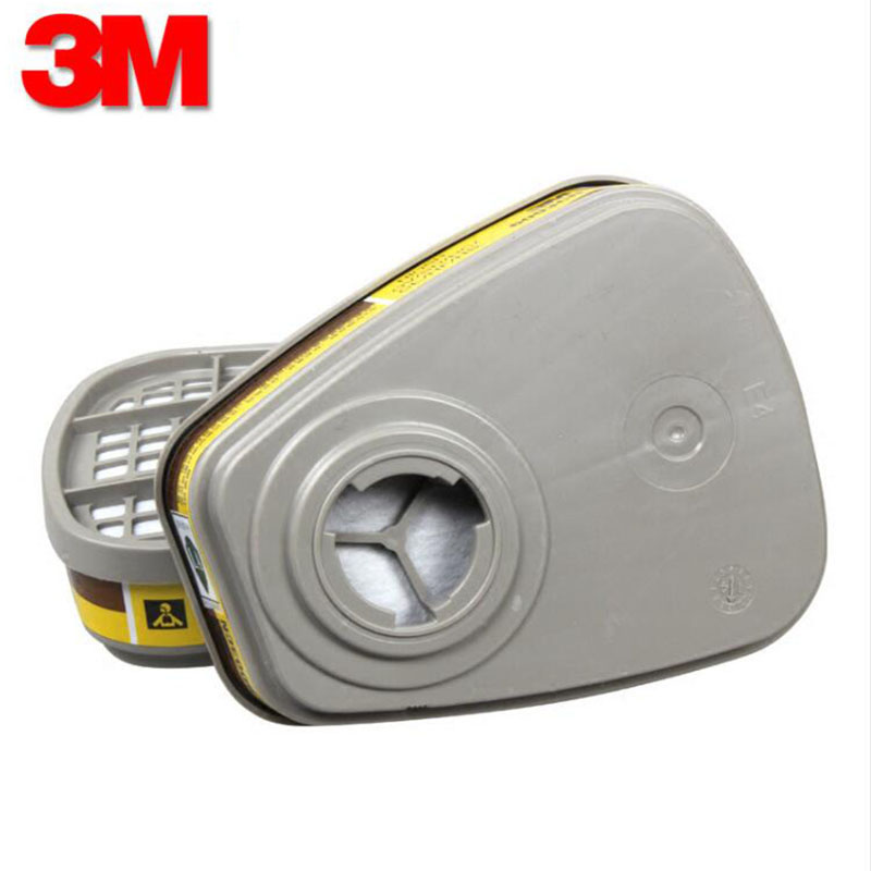 3M 6003 Chemical Gas mask Cartridge Filter  Anti Organic Vapor&Acid Respiratory for 6200 7502 6800 gas mask
