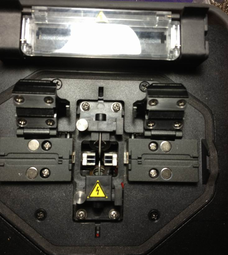 Uchwyt światłowodu CETC41 FUSION SPLICER AV6471 AV6496 AV6496AG DO - Sprzęt komunikacyjny - Zdjęcie 3