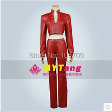 The Seven Deadly Sins Fox's Sin of Greed Ban Cos Anime Cosplay Costume Uniforms Clothing Red