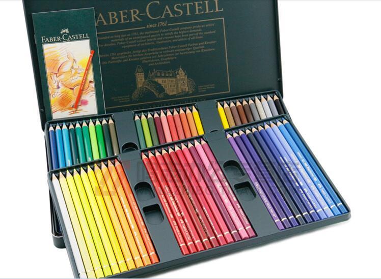 superb crayon de couleur faber castell #10: boite de 120 crayons