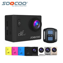 Original SOOCOO C30R 2 4G Wireless Remote Action Camera 4K with Real Voice Adjustable Angle Fish