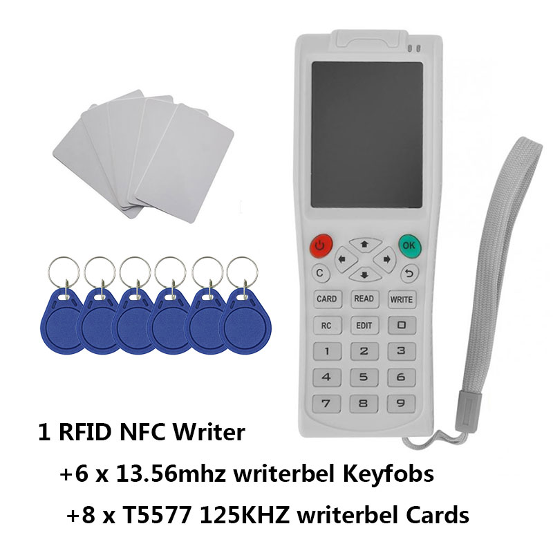 Newest iCopy8 with Full Decode Function Smart Card Key Machine RFID Copie/Reader/Writer Duplicator-in Control Card Readers from Security & Protection