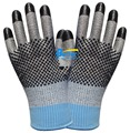 Cut Resistant Work Glove Stainless Steel Gloves 2 Pairs Aramid Fiber Labor Glove HPPE Anti Cut Safety Glove