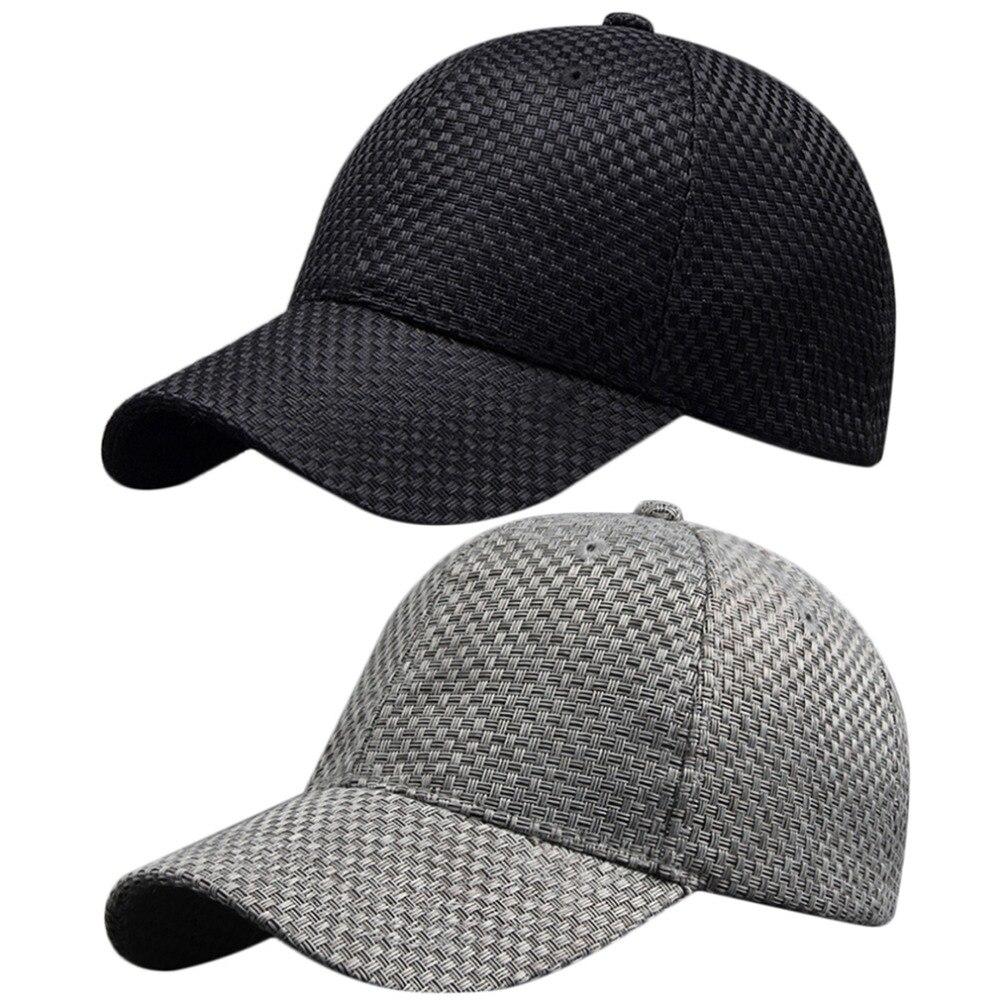 Cotton Woven Unisex font b Classic b font Hip Hop Style Solid Color Cap Flat Cap