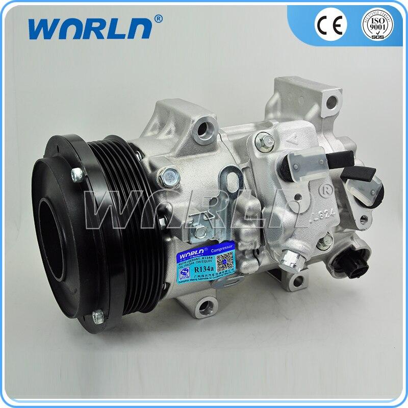 Compresseur automatique réfrigérant R134a ac pour TOYOTA aillon DBAZRT260 2006 883101A770