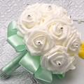 8 Имеющиеся Цветы Невесты Невесты Искусственные Руки с Цветами в Руках Свадебные Букеты Свадебные Букеты Украшения Партии J0066
