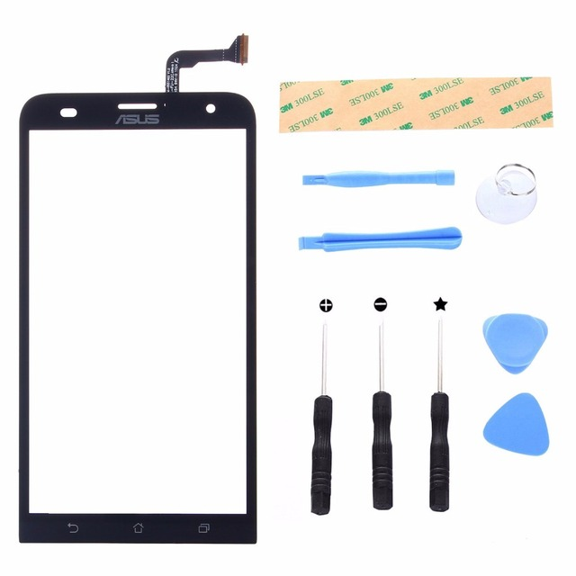 Digitizer Front Touch Screen glass for Asus Zenfone 2 Laser ZE550KL Z00LD 5.5 Replacement Panel Display Repair Panel Tool Set
