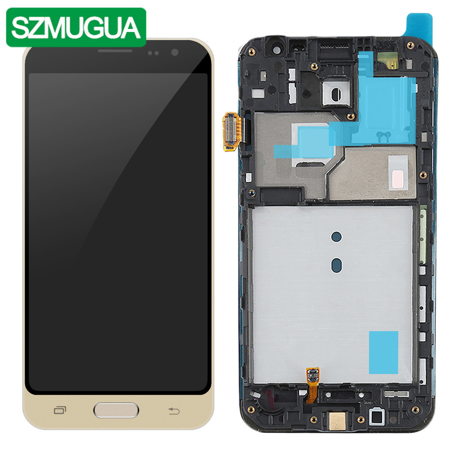 TFT  LCD For Samsung Galaxy J3 2016 J320 Display SM-J320FN/M/H/DS Touch Screen Digitizer Assembly Replacement Frame Home ButtonTFT  LCD For Samsung Galaxy J3 2016 J320 Display SM-J320FN/M/H/DS Touch Screen Digitizer Assembly Replacement Frame Home Button