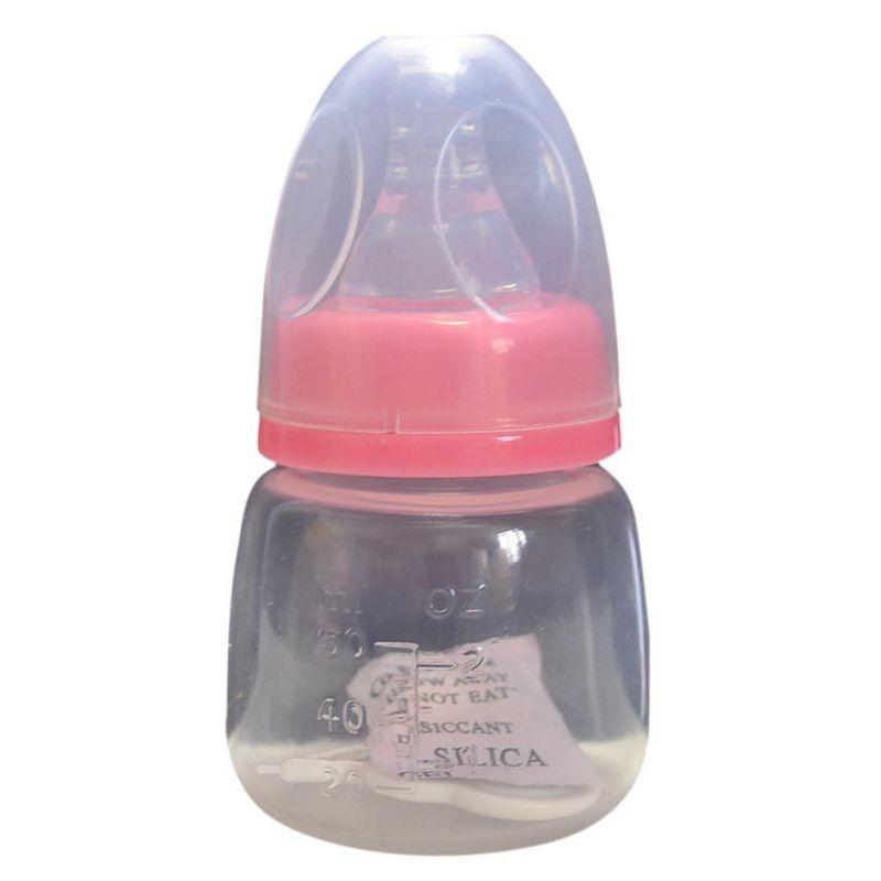 60ml Children Learn Feeding Drinking Handle Bottle Baby bottle Infant Newborn Cup kids Straw Juice water Bottles
