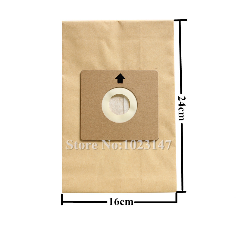 10 pieces/lot Vacuum Cleaner Parts Paper Dust Bags Filter Bag replacement for Nilfisk Coupe Neo Bravo P12 etc. цена 2017