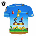 8 styles! Funny t shirts Super Mario T Shirts Short Sleeve Men/women Cartoon t shirt streetwear hip hop brand t shirt casual
