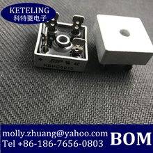 Livraison gratuite KBPC5010 PONTE KBPC 50A DIODE GPP 1000 V