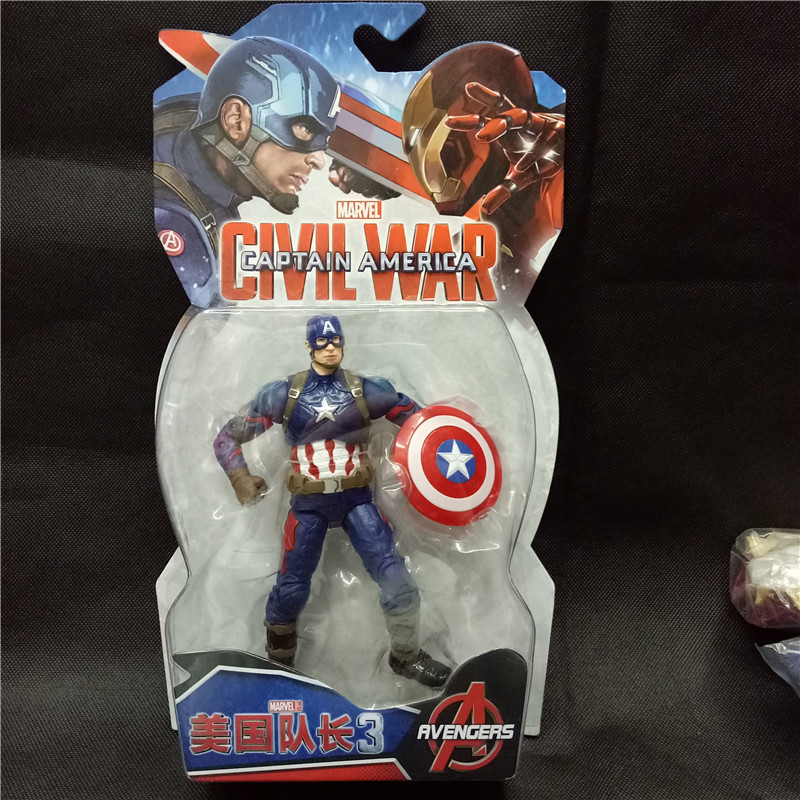 Disney Marvel Avengers Superhero Film 7 Inch Iron Man Captain America - Oyuncaq fiqurlar