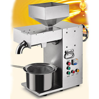 VOSOCO Oil Press Stainless Steel Automatic Hot And Cold Double Pressing 1800W 220V Oil Presser Sunflower