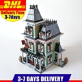 2017 LEPIN 16007 2141Pcs Monster Fighters Haunted House Model Building Kits Set Blocks Bricks Halloween Toy Gift Clone 10228