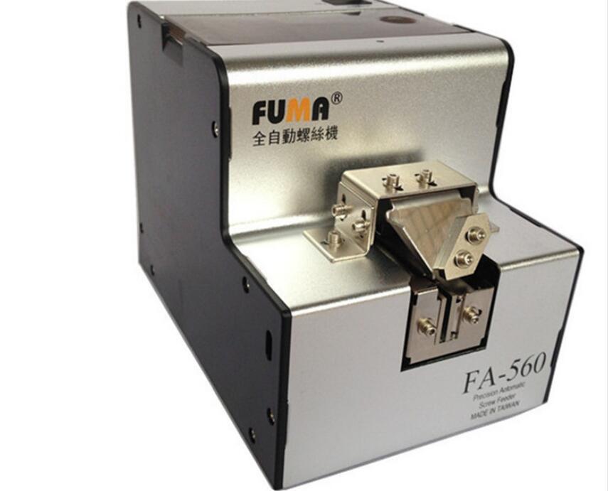 Automatic Screw Feeder Machine Conveyor , screw arrangement machine / FA 560 1.0 6.0 mm AC100 240V