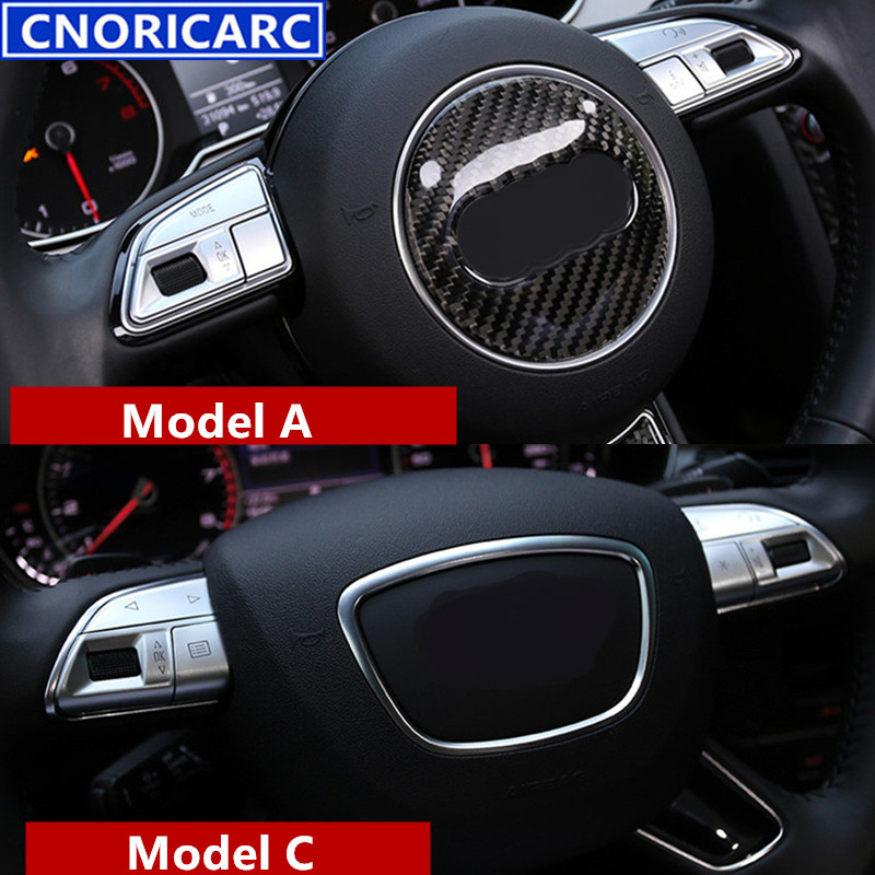 REAL CARBON FIBER STEERING WHEEL SWITCHES OVERLAY FOR 04-08 RX-8 M//T W//O PADDLE