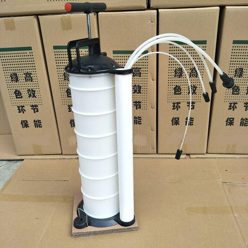 Автомобильный Ручной Масляный насос машина Грязное Масло Набор ведер масляный фильтр насос 7л объем