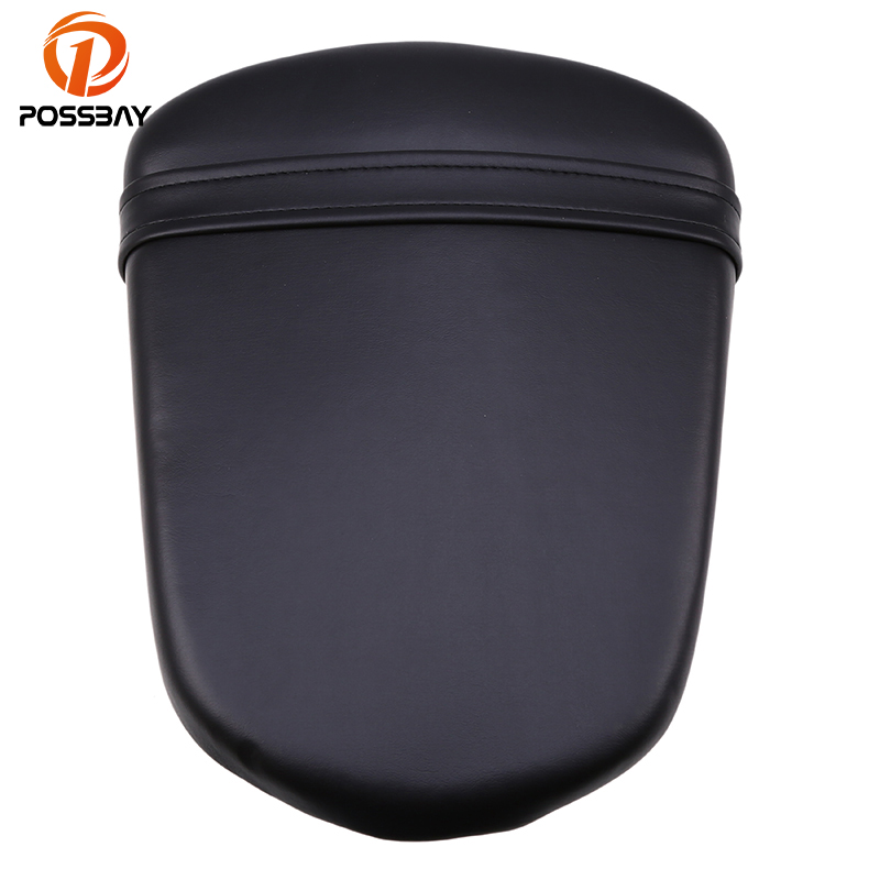 POSSBAY Motorcycle Rear Back Seat Cover Cushion Pillion for Suzuki GSXR 600/750 K6 2006 2007 Moto Seat Pillion Pad Passenger