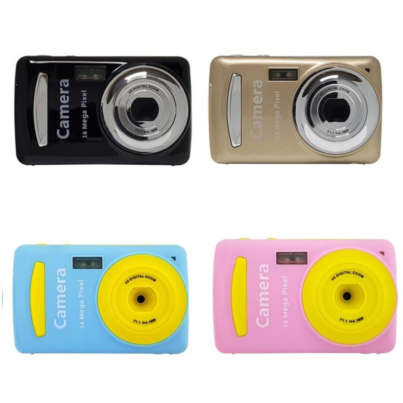 2.4 Inch Mini Digital Camera 16MP Video Camcorder Multi Colored Children Camera 720P HD Mini Video Camera Best Gift For Child