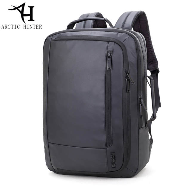 6471d3e61904 Online Shop ARCTIC HUNTER 15.6 inch laptop backpacks   tote bag men travel  waterproof backpack male Black Backpacks For Teenagers