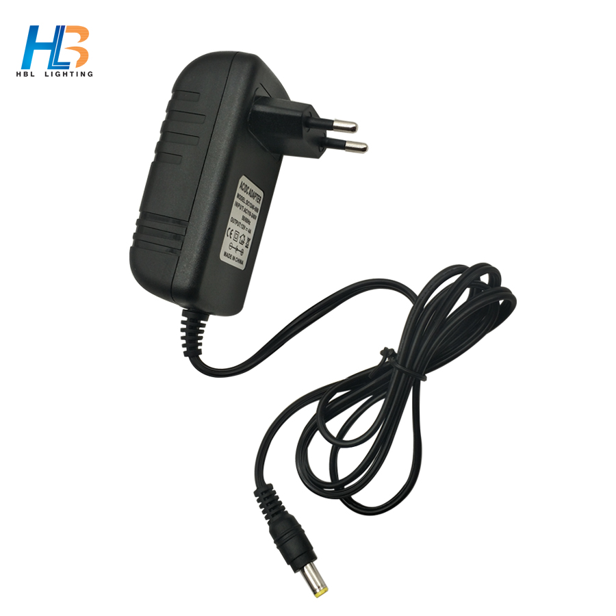 AC 110 240V EU/US/UK Output DC 12V 4A power adapter for led strip light LCD Monitor TV Box Switching Power supply