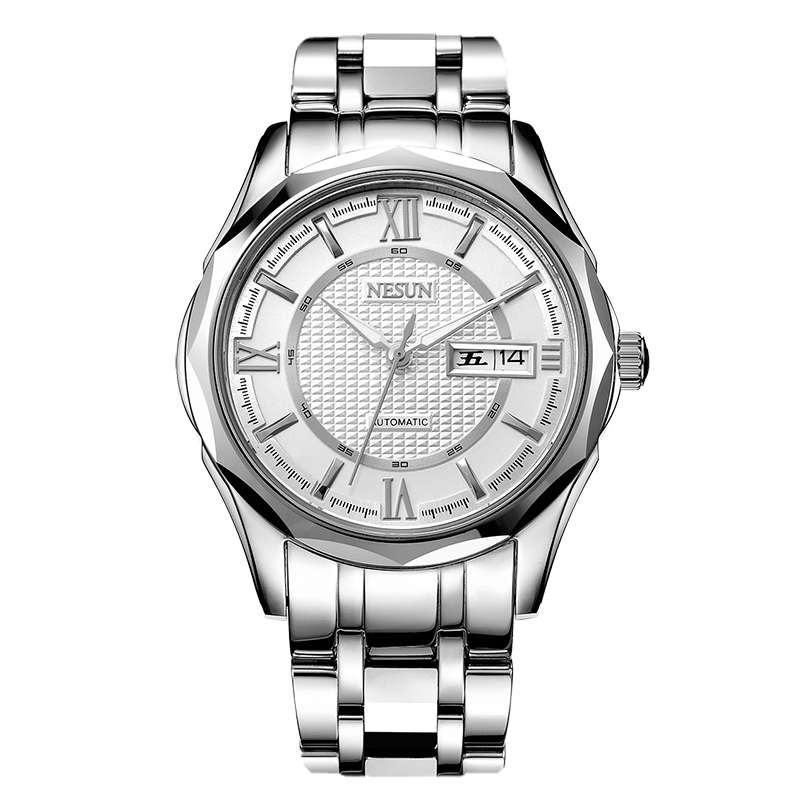 Nesun Japan Import NH36A Automatic Movement Switzerland Watch Men Luxury Brand Men 39 s Watches Sapphire relogio masculino N9212 4 in Mechanical Watches from Watches