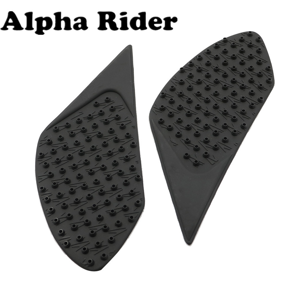 3D Rubber Tank Traction Pad Side Gas Knee Grip Protector for Ducati DIAVEL 2012-2016