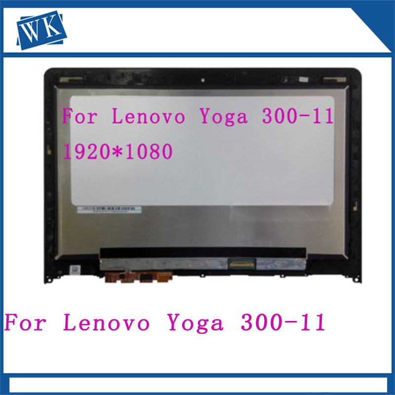 For Lenovo Yoga 300-11 Yoga 300-11IBR YOGA 300-11IBY 80M0007QGE 11.6 NEW LCD Screen Touch Digitizer Assembly With BezelFor Lenovo Yoga 300-11 Yoga 300-11IBR YOGA 300-11IBY 80M0007QGE 11.6 NEW LCD Screen Touch Digitizer Assembly With Bezel