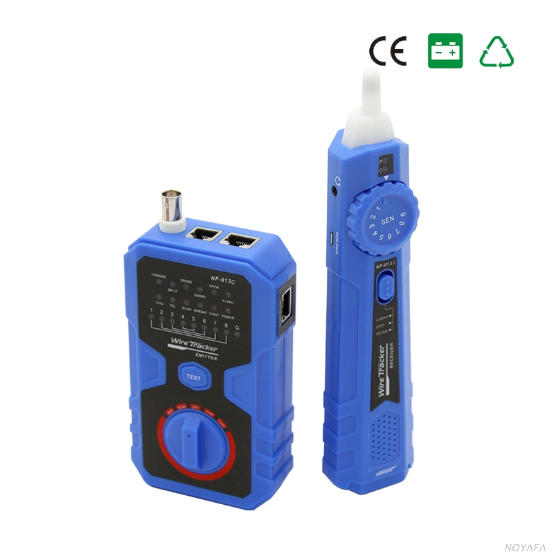 все цены на Wire tracker RJ11 RJ45 BNC Line Finder Cable Tester for Network Cable Split pairs testing telephone line condition detector 813C онлайн